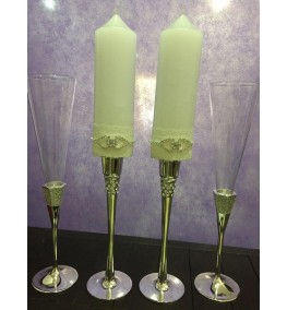Candles and Glasses 15