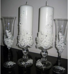Candles and Glasses 18