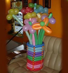 Balloons in Vase