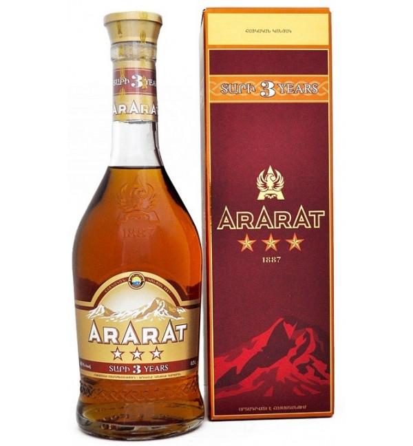 Арарат Коньяк 5 Лет Цена