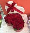 Heart Boxed Roses